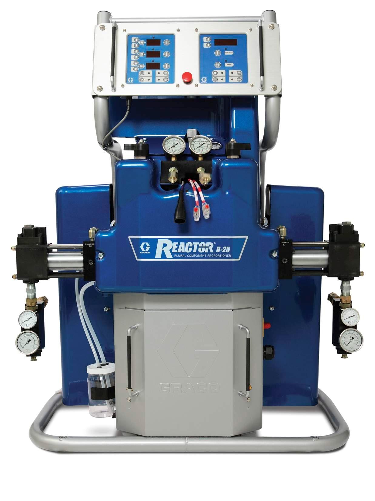 Graco Reactor Н-XP2 - оборудование для переработки составов на основе гибридов и полимочевины