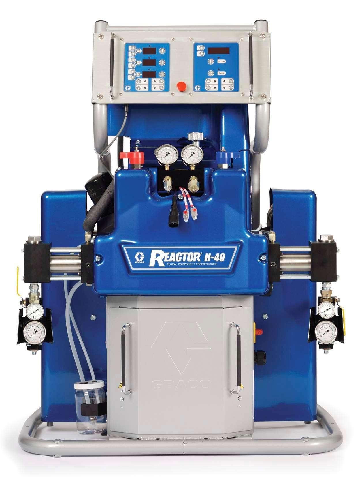 Graco Reactor Н-XP3 - оборудование для переработки составов на основе гибридов и полимочевины