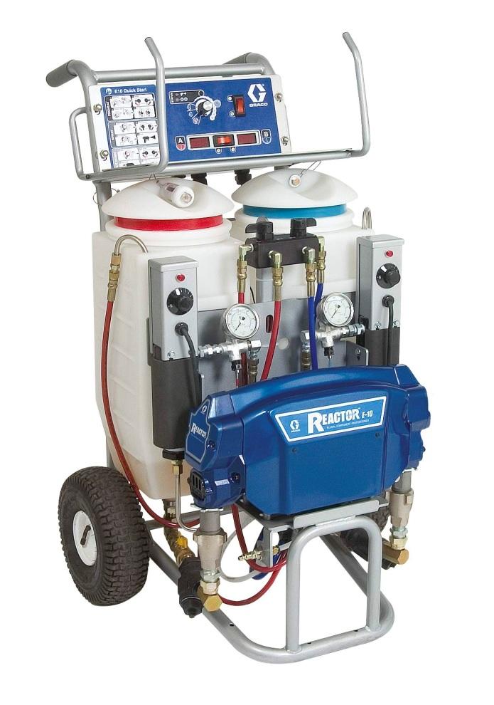 Graco Reactor E-10 - Система для работы с пеной и ППУ