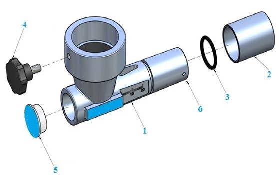 Дозатор абразивного материала инжекторный