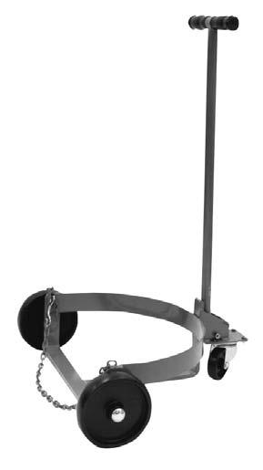 Усиленная тележка для бочки 111470
